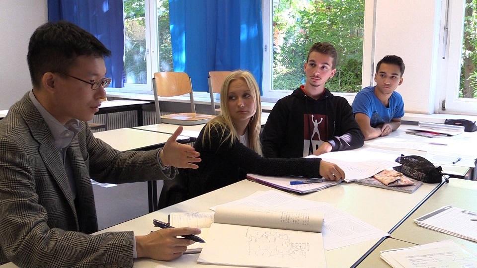 (2014年)ドイツの高校生たちと